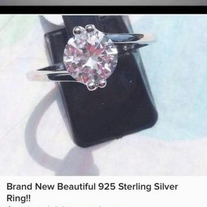 Unknown Jewelry - Brand 🆕 Beautiful 925 Sterling Silver Ring