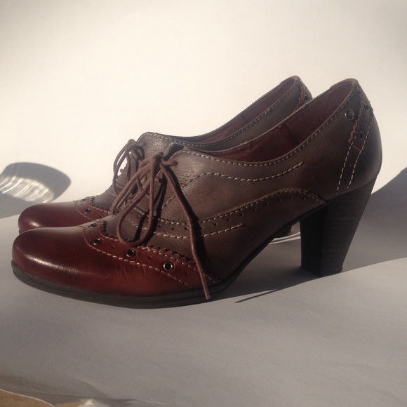 sale retailer nice shoes best place for Pikolinos Oxford Heels size 39