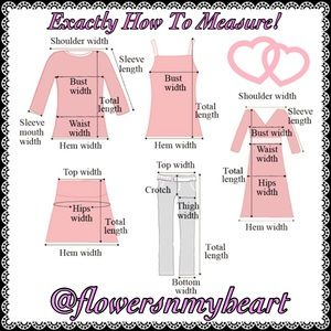 Other - 😻HELPFUL SIZING ADVICE