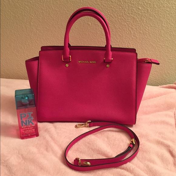 e161a58aa4a5 Michael Kors Large selma Neon pink.Limited edition.  M_55975106b909cf0633006ef9