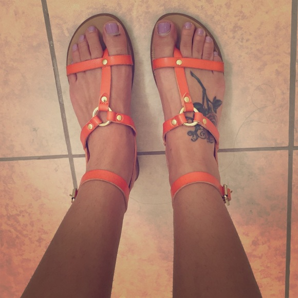 ALDO Shoes - Aldo orange sandals