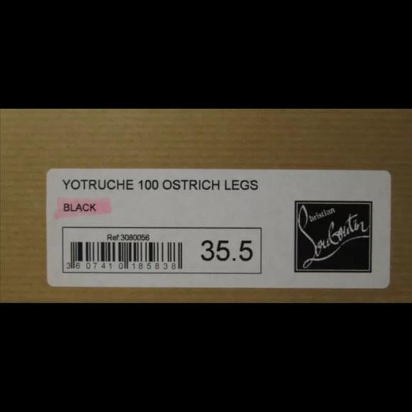 38% off Christian Louboutin Shoes - Christian Louboutin heels ...