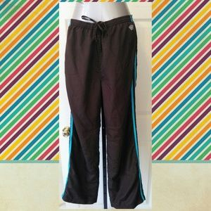 Oleg Cassini Pants - Lined athletic gym track pants