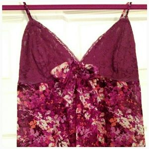 Ambrielle Other - *YES!* Beautiful floral and lace babydoll!