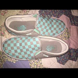Vans Shoes   Vans Mint Grey Shoes