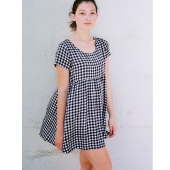 4ee3632641 American Apparel Dresses   Skirts - Plaid Babydoll Dress