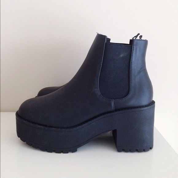 25 h m boots sold h m chunky chelsea boots from rui s closet on poshmark