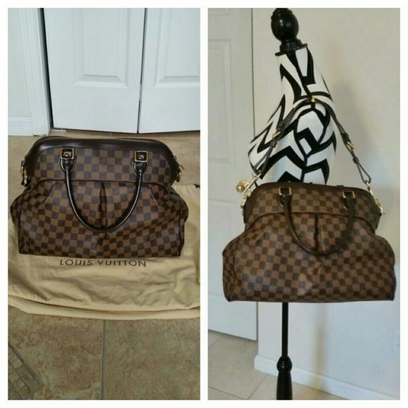 Louis Vuitton Bags   Auth Ebene Trevi Gm Bag   Poshmark a3a5292a33