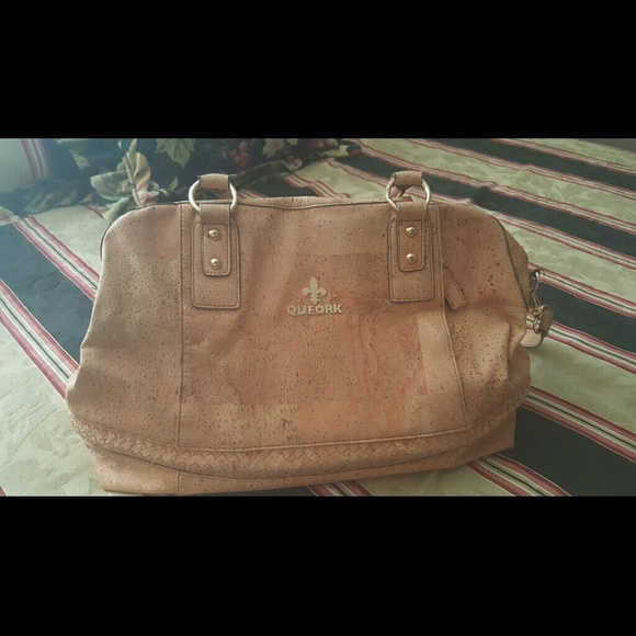 88 Off Queork Handbags Cork Style Handbag Purse From