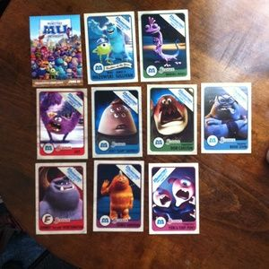 disney Other - Monsters U and Brave projectionist cards