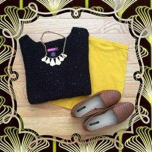 Sweaters - Black Sequin Sweater