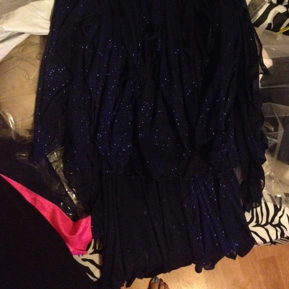 22 off my michelle dresses amp skirts strapless dark blue