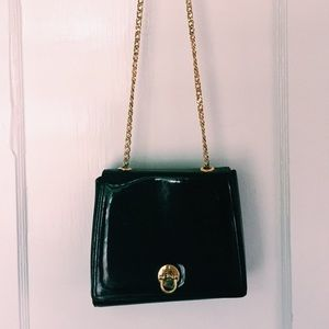 Vintage Crossbody Patent Leather bag