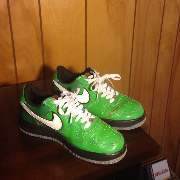 Frankenstein Air Force Ones-Size 7 Men's= 9 women