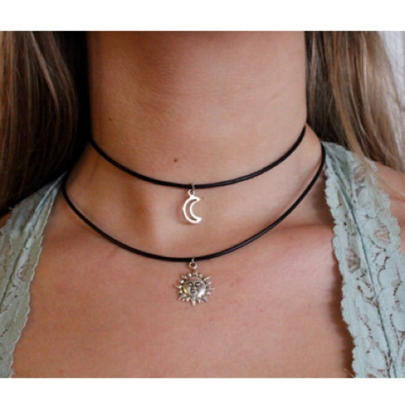 847f4035605d0 Sun and Moon choker set! Made to order. NWT