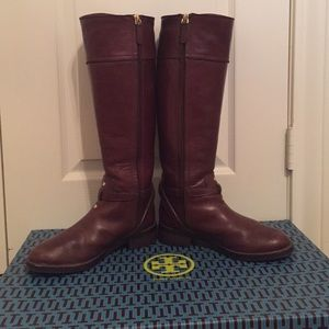f010021bff0d Tory Burch Shoes - Tory Burch almond Teresa riding boots