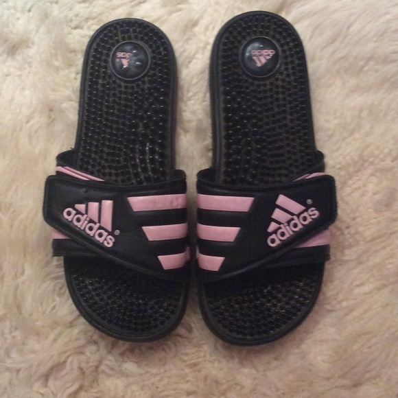 e9866cacc1e9 Buy pink adidas slippers   OFF66% Discounted