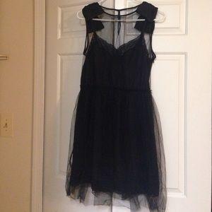 Rodarte for Target Black Party Dress
