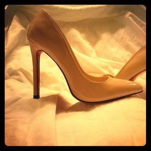 a8bbfa37c9d8 73% off Nine West Shoes - Nine West faux croc brown sling backs .