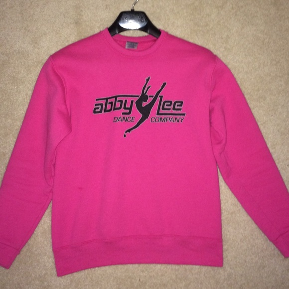 14% off Abby Lee Dance Company Sweaters - ALDC Pink Crewneck ...
