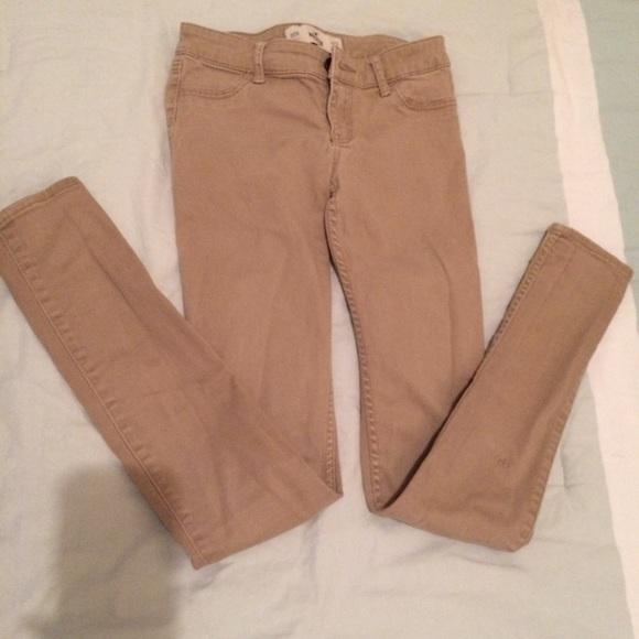 hollister khaki pants