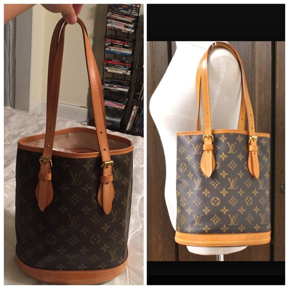 Louis Vuitton Handbags - ✨Authentic Louis Vuitton Petit Bucket PM😍 93aa49a06d7b3
