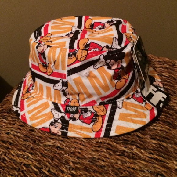 61c438e319b Mickey Mouse Bucket Hat by neff