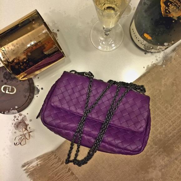 b043e18076 Bottega Veneta Handbags - Bottega Veneta Mini Messenger Bag🌹in Royal Purple