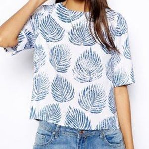 ASOS Palm Shirt Size Small
