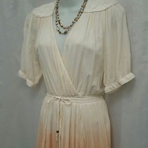 French Connection Dresses & Skirts - French Connection Ombré Creamsicle Dress