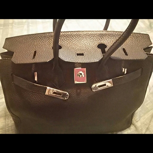 68376ece75c0 Hermes Handbags - Hermes Birkin bag 35 black togo   silver palladium