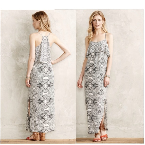 59 off anthropologie dresses skirts anthropologie for Anthropologie mural maxi dress