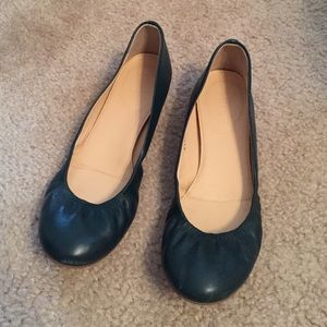 J. Crew Shoes - J. Crew Cece Leather Ballet Flats in Boulevard