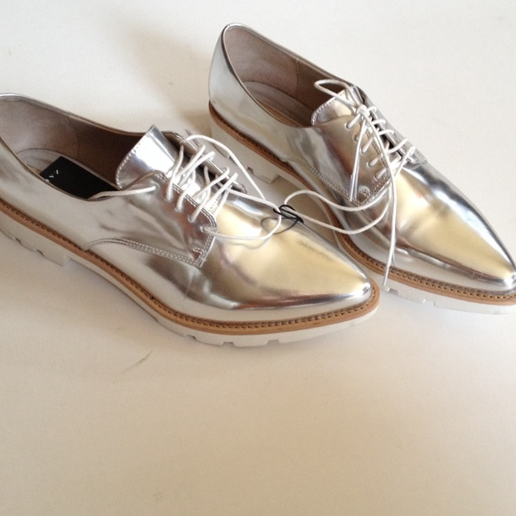 Amazing Zara Casual Oxford Shoes In Gray For Men Grey  Lyst