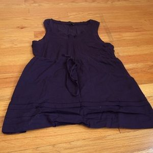 Women's theory top size P purple