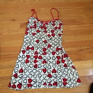 Moschino cotton pool dress