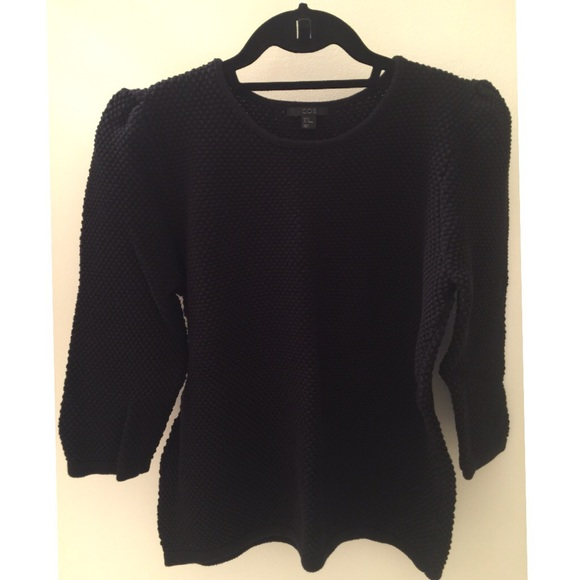 e2658265cfef COS Sweaters   Black Cotton Sweater 34 Sleeves   Poshmark