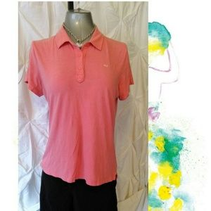Pink tiny fit Old Navy collared polo top shirt