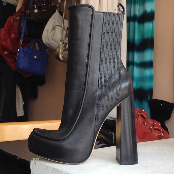 brand new unisex for sale cheap price factory outlet Alexander Wang chunky heel boots cheap online store Qra1TV9Z
