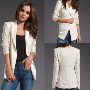 Lovers + Friends Jackets & Blazers - Lovers + Friends Ivory Blazer