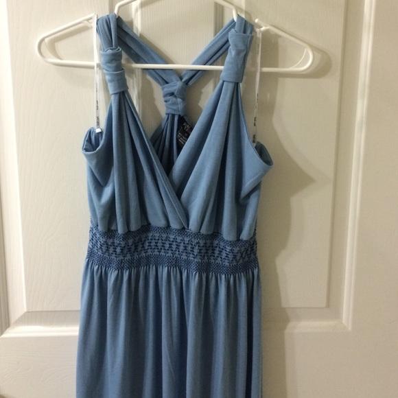 off Dresses & Skirts Lightweight baby blue maxi