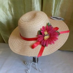 Accessories - Straw floppy hat