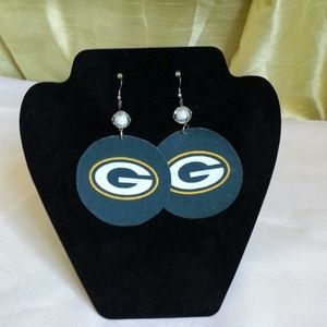 Jewelry - Greenbay Girl Custom Earrings