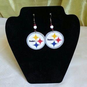 Jewelry - Steelers Nation Team Spirit Earrings