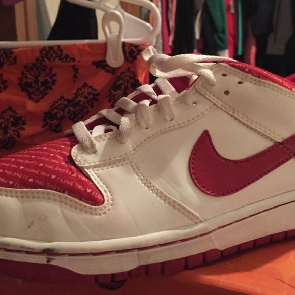 Nike Shoes I Love You Dunks Poshmark