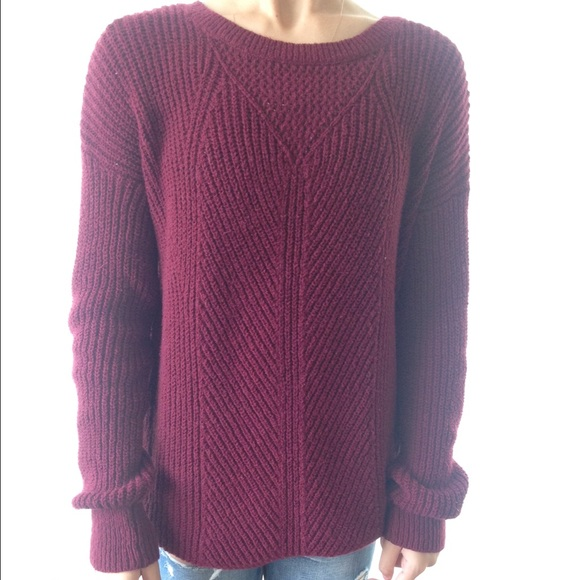 25% off Forever 21 Sweaters - Cute Maroon Sweater from Rafaela's ...