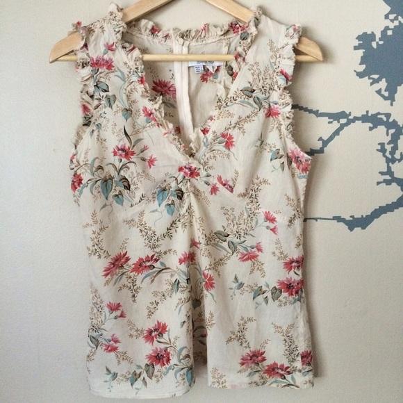 ??? Zara Floral Print Blouse 29