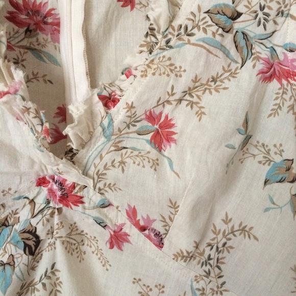 ??? Zara Floral Print Blouse 2