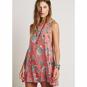 Free People Folk Song Mini Dress