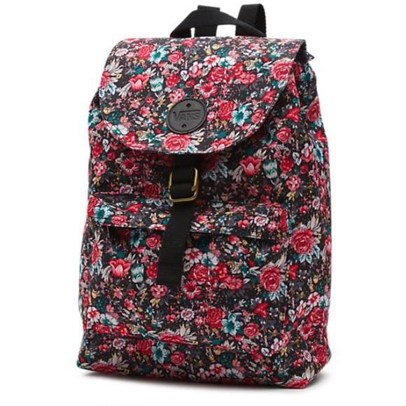 Vans Multi Floral Nova Drawstring Backpack 🌸. M 5599cc512ec0e14f1c00fb3e 0f2222855fa75